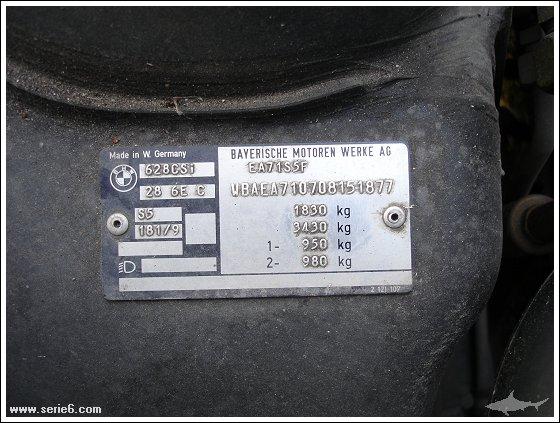 Verifier numero chassis - Blog sur les voitures